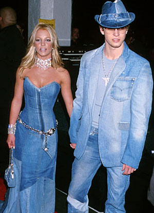 justine timberlake and britney spears